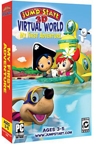 Jumpstart 3D Virtual World - My First Adventure (PC) PC Game