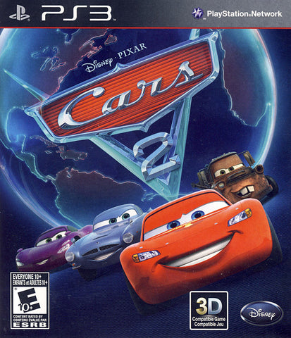Cars 2 (Bilingual Cover) (PLAYSTATION3) PLAYSTATION3 Game