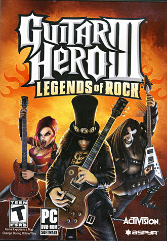 Guitar Hero III: Legends Of Rock (Game Only) (PC) PC Game