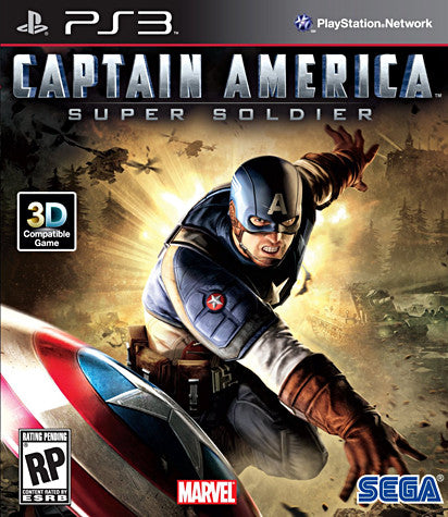 Captain America - Super Soldier (PLAYSTATION3) PLAYSTATION3 Game