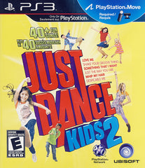 Just Dance Kids 2 (Playstation Move) (Bilingual Cover) (PLAYSTATION3)
