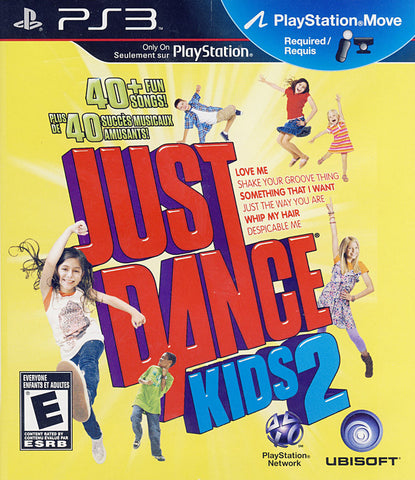 Just Dance Kids 2 (Playstation Move) (Bilingual Cover) (PLAYSTATION3) PLAYSTATION3 Game