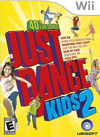 Just Dance Kids 2 (NINTENDO WII) NINTENDO WII Game