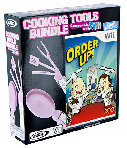 Nintendo Wii Cooking Tools Bundle (Includes Order Up) (Intec) (NINTENDO WII) NINTENDO WII Game