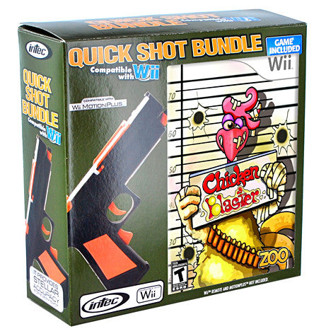 Nintendo Wii Quick Shot Bundle (Includes Chicken Blaster) (Intec) (NINTENDO WII) NINTENDO WII Game