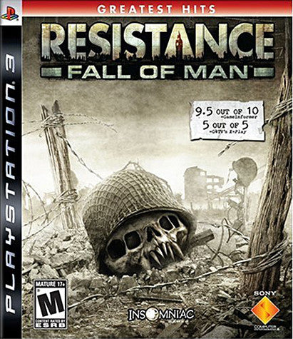 Resistance - Fall Of Man (PLAYSTATION3) PLAYSTATION3 Game