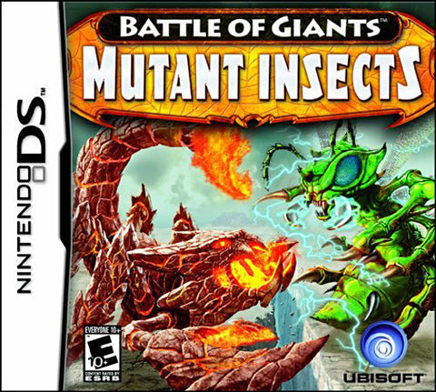 Battle of Giants - Mutant Insects (DS) (USED) DS Game