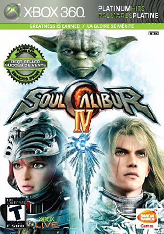 Soul Calibur IV (Bilingual Cover) (XBOX360) XBOX360 Game