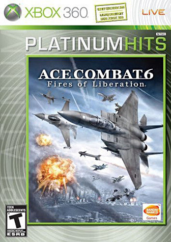 Ace Combat 6 - Fires of Liberation (Platinum Hits) (Bilingual Cover) (XBOX360) XBOX360 Game