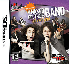 Rock University Presents: The Naked Brothers Band The Video Game (Bilingual Cover) (DS)