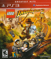 LEGO Indiana Jones 2 - The Adventure Continues (Bilingual Cover) (PLAYSTATION3)
