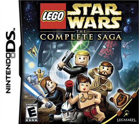 Lego Star Wars - The Complete Saga (DS) DS Game