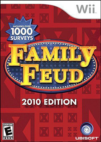 Family Feud 2010 Edition (NINTENDO WII) NINTENDO WII Game
