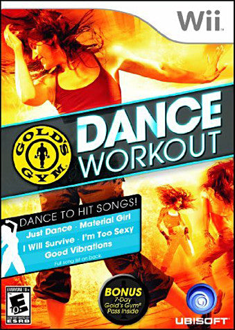 Gold s Gym Dance Workout (Bilingual Cover) (NINTENDO WII) NINTENDO WII Game