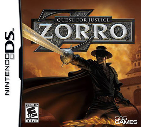 Zorro - Quest for Justice (DS) DS Game