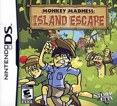 Monkey Madness - Island Escape (Bilingual Cover) (DS)