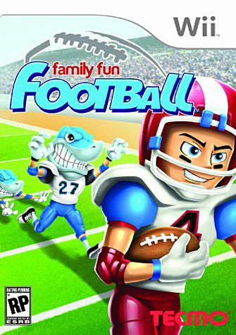 Family Fun Football (NINTENDO WII) NINTENDO WII Game