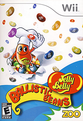 Jelly Belly - Ballistic Beans (NINTENDO WII) NINTENDO WII Game