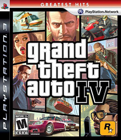 Grand Theft Auto IV (PLAYSTATION3) PLAYSTATION3 Game