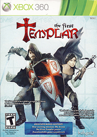 The First Templar (Exclusive Bonus Content) (XBOX360) XBOX360 Game