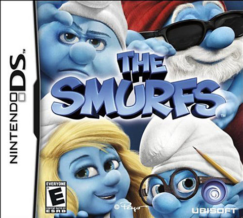 The Smurfs (Bilingual Cover) (DS) DS Game