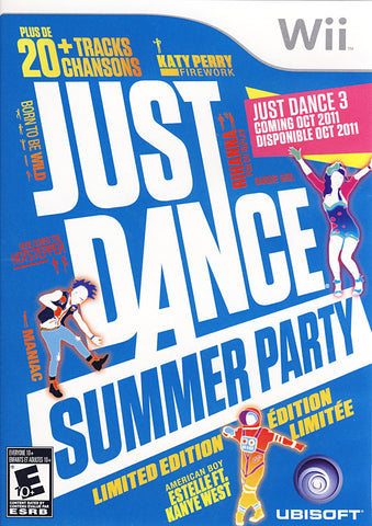 Just Dance Summer Party (NINTENDO WII) NINTENDO WII Game