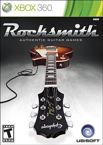 Rocksmith (Includes Real Tone Cable) (XBOX360) XBOX360 Game