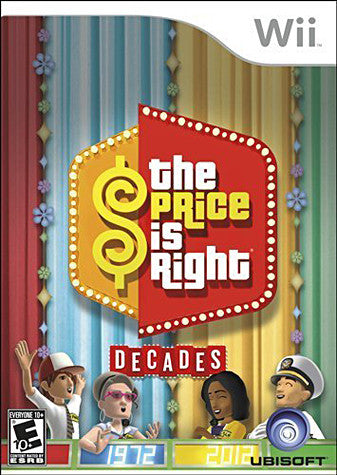 Price Is Right - Decades (NINTENDO WII) NINTENDO WII Game