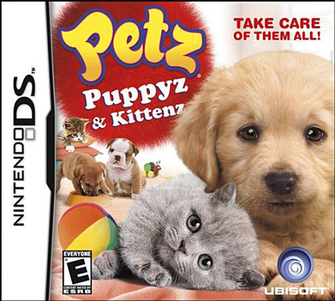 Petz - Puppyz And Kittenz (DS) DS Game