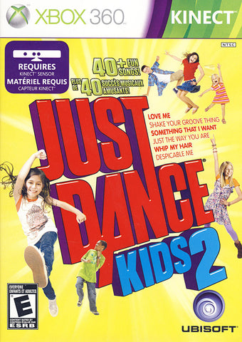 Just Dance Kids 2 (Kinect) (Bilingual Cover) (XBOX360) XBOX360 Game