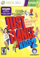 Just Dance Kids 2 (Kinect) (Bilingual Cover) (XBOX360)