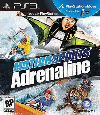 MotionSports Adrenaline (Playstation Move) (PLAYSTATION3) PLAYSTATION3 Game