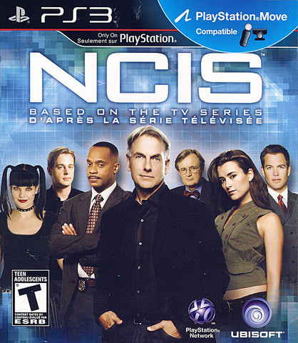 NCIS (Playstation Move) (Bilingual Cover) (PLAYSTATION3) PLAYSTATION3 Game