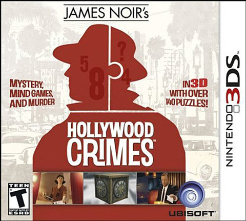 James Noir's - Hollywood Crimes (3DS) 3DS Game