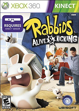 Rabbids - Alive And Kicking (Kinect) (XBOX360) XBOX360 Game