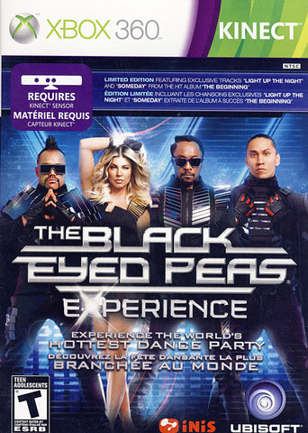 The Black Eyed Peas - Experience (Kinect) (Bilingual Cover) (XBOX360) XBOX360 Game