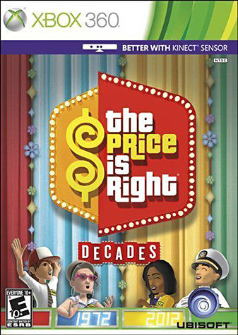 The Price Is Right - Decades (Kinect) (Bilingual Cover) (XBOX360) XBOX360 Game