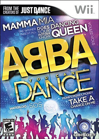 Abba - You Can Dance (Bilingual Cover) (NINTENDO WII) NINTENDO WII Game