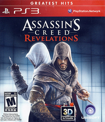 Assassin s Creed - Revelations (Trilingual Cover) (PLAYSTATION3) PLAYSTATION3 Game