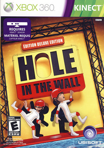 Hole in The Wall - Deluxe Edition (Kinect) (Bilingual Cover) (XBOX360) XBOX360 Game