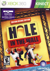 Hole in The Wall - Deluxe Edition (Kinect) (Bilingual Cover) (XBOX360)