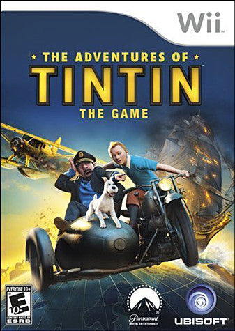 The Adventures Of Tintin - The Game (NINTENDO WII) NINTENDO WII Game