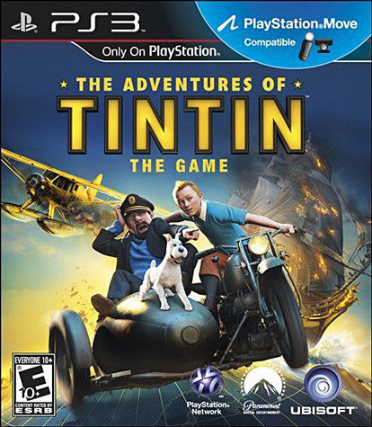 The Adventures Of Tintin - The Game (Playstation Move) (PLAYSTATION3) PLAYSTATION3 Game