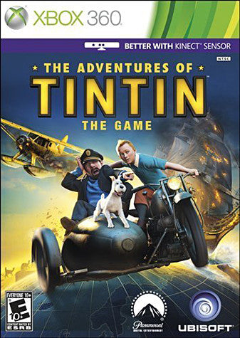 The Adventures Of Tintin - The Game (XBOX360) XBOX360 Game