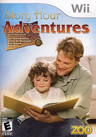 Story Hour - Adventures (Bilingual Cover) (NINTENDO WII) NINTENDO WII Game