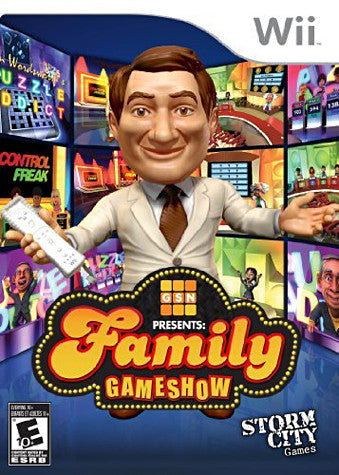 Family GameShow (NINTENDO WII) NINTENDO WII Game