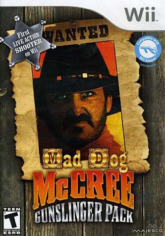 Mad Dog Mccree - Gunslinger Pack (NINTENDO WII) NINTENDO WII Game