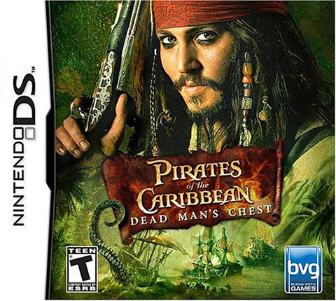 Pirates of the Caribbean - Dead Man's Chest (DS) DS Game