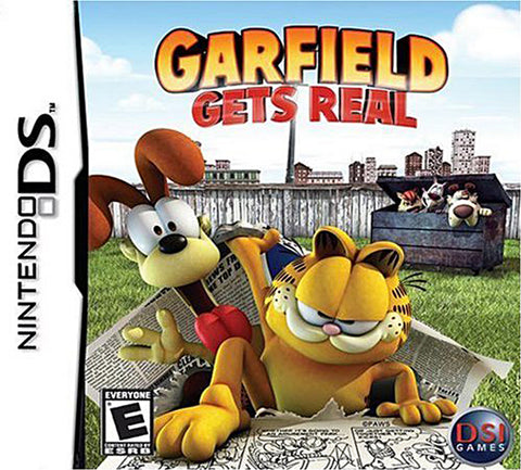 Garfield - Gets Real (Bilingual Cover) (DS) DS Game