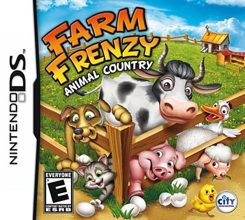 Farm Frenzy - Animal Country (DS) DS Game